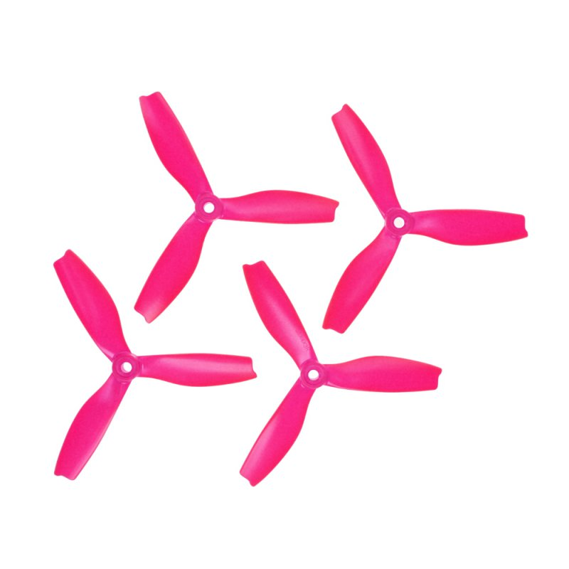 "HQProp 3 Blade DPS 5""x4x3  (12.7cm) Durable S Propeller Set Pink - 4 pcs"
